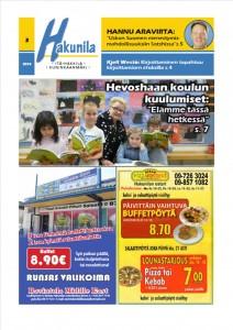 Lue Hakunila lehti