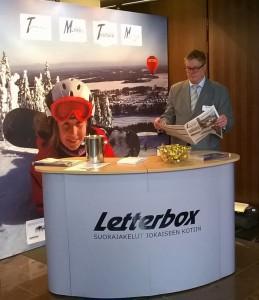 Letterbox mukana Mainostajien liiton Mainontapäivillä 2014